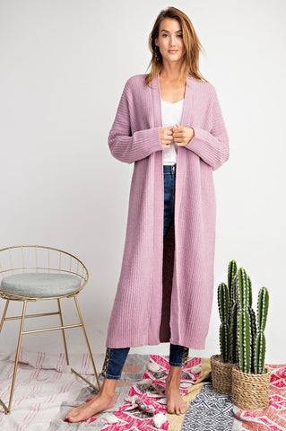 Dusty Lilac Cardigan