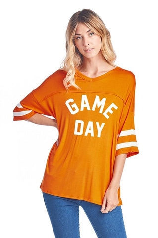Orange Game Day Jersey