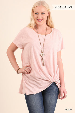 Blush Basic SS Top