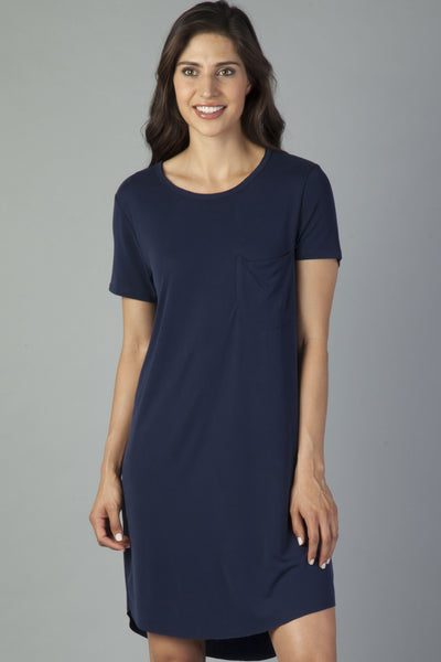 Navy Samantha Dress