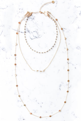 Delilah Gray Necklace