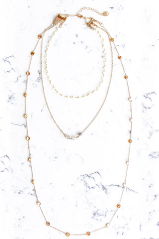 Delilah White Necklace