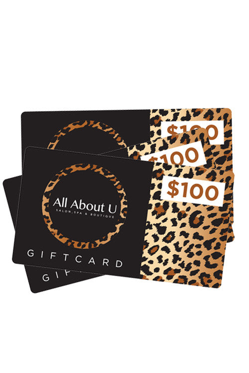 Shopping for someone else but not sure what to give them? Give them the gift of choice with a AllAboutU Boutique Gift Card.