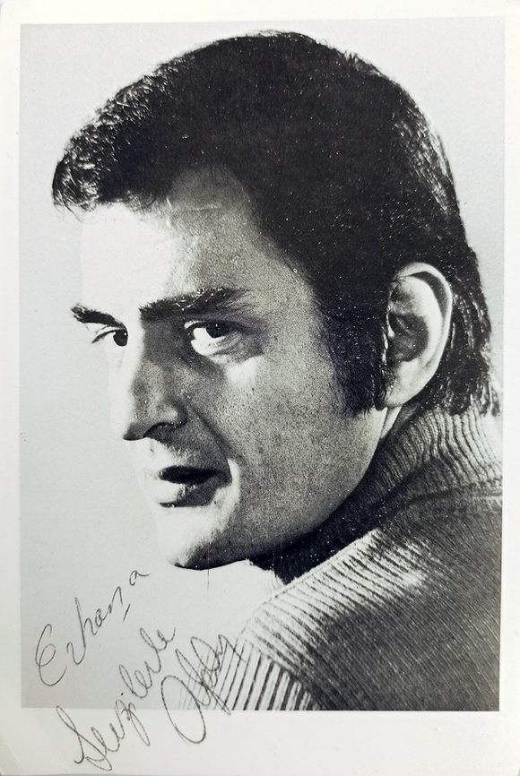 Original print photograph signed and inscribed 'Alpay'