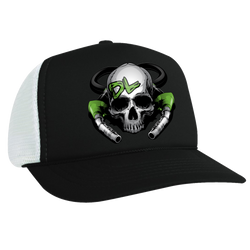 Diesel Life DL Skull & Pumps Poly Mesh Foam Trucker Cap