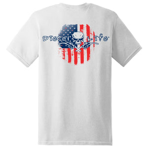 American Flag Short Sleeve T-Shirt