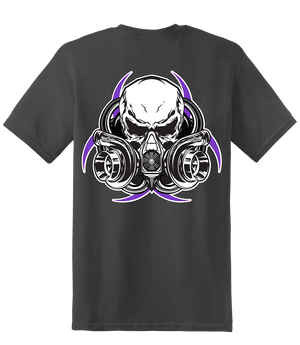 Women's Gas Mask Short Sleeve - Charcoal - Diesel Life®
