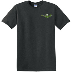 Turbo Short Sleeve T-Shirt - Tweed with Gray and Green Imprint - Diesel Life®