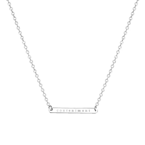 EMPOWER HORIZONTAL NECKLACE
