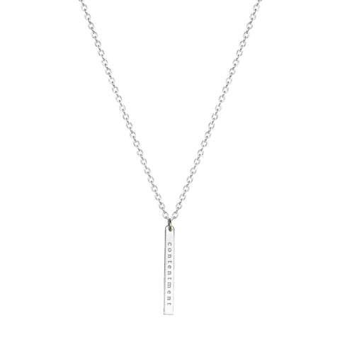 EMPOWER VERTICAL NECKLACE