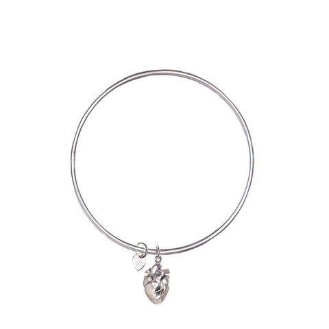 SOULFUL HEART BANGLE