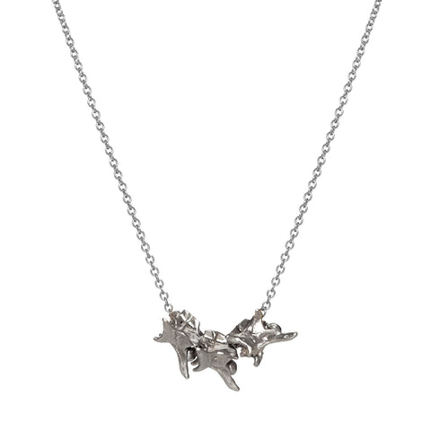 DIMINUTIVE 3 VERTEBRAE NECKLACE