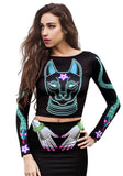 FELINE FATALE CROP TOP