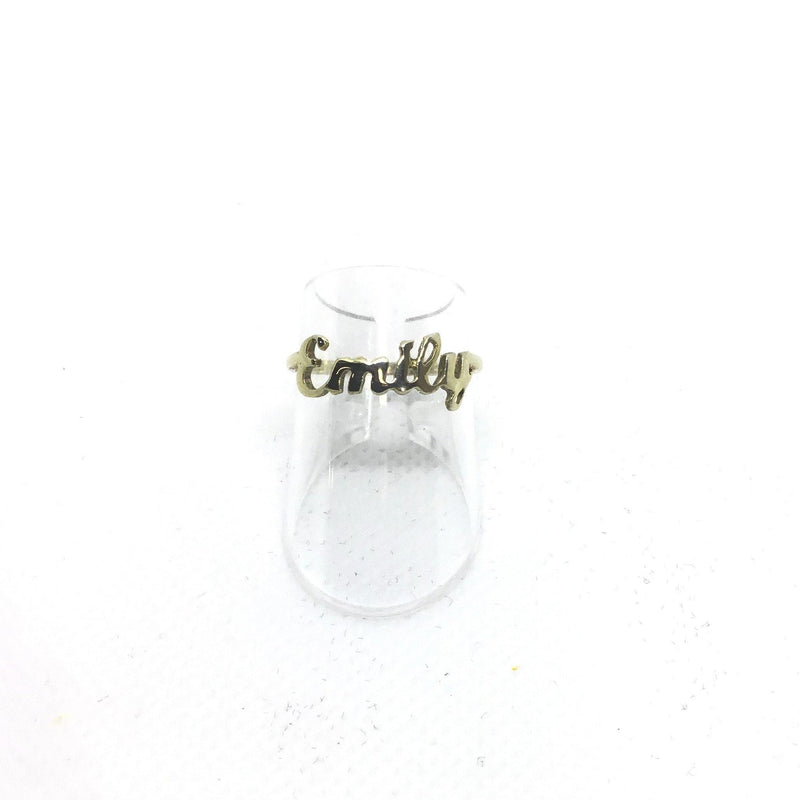 Ring mit Name - Mcollection Aachen