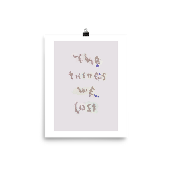 The Things We Lost