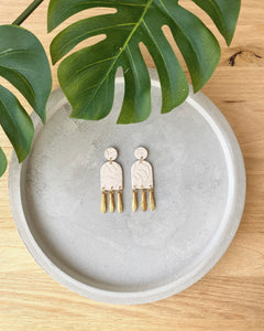 SABINA ARCH DROP EARRINGS