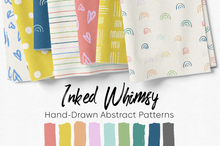 Load image into Gallery viewer, Inked Whimsy Hand-Drawn Abstract Patterns