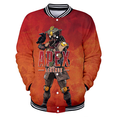 Apex Legends 3D Jacket Men/Women Hot Game Fall/Winter Fashion Sweatshirts Jacket Apex Legends 3DJacket Men's