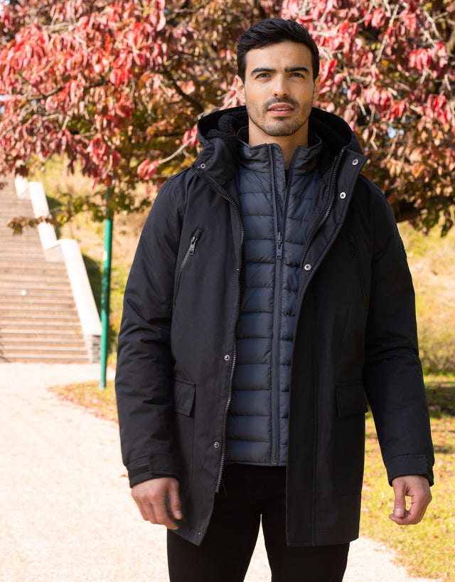 Lincoln 3 in 1 Jacket Black