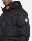 Tingley Padded Parka Jacket Black