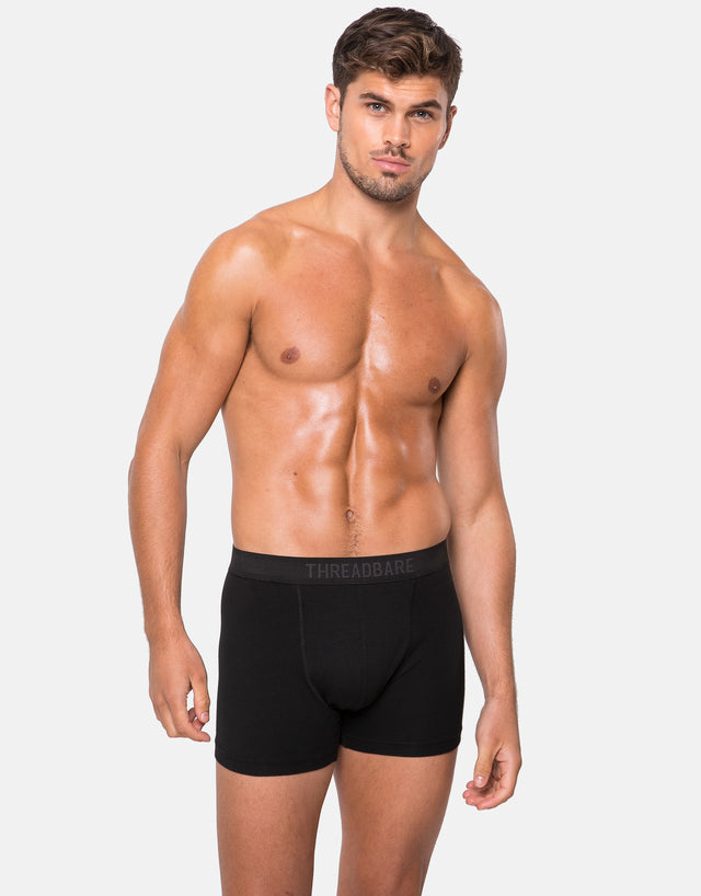 5 Pack Iceberg Trunks Black