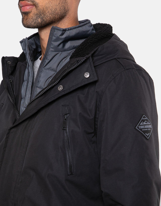 lincoln 3 in 1 jacket