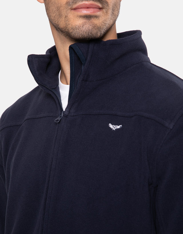 barnal zip through fleece