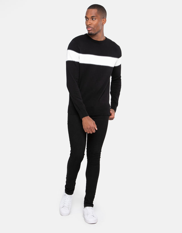 celtis cotton crew neck jumper