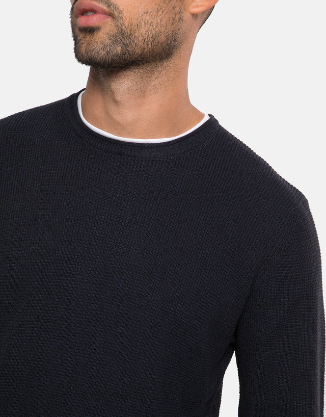 dolan cotton crew neck jumper