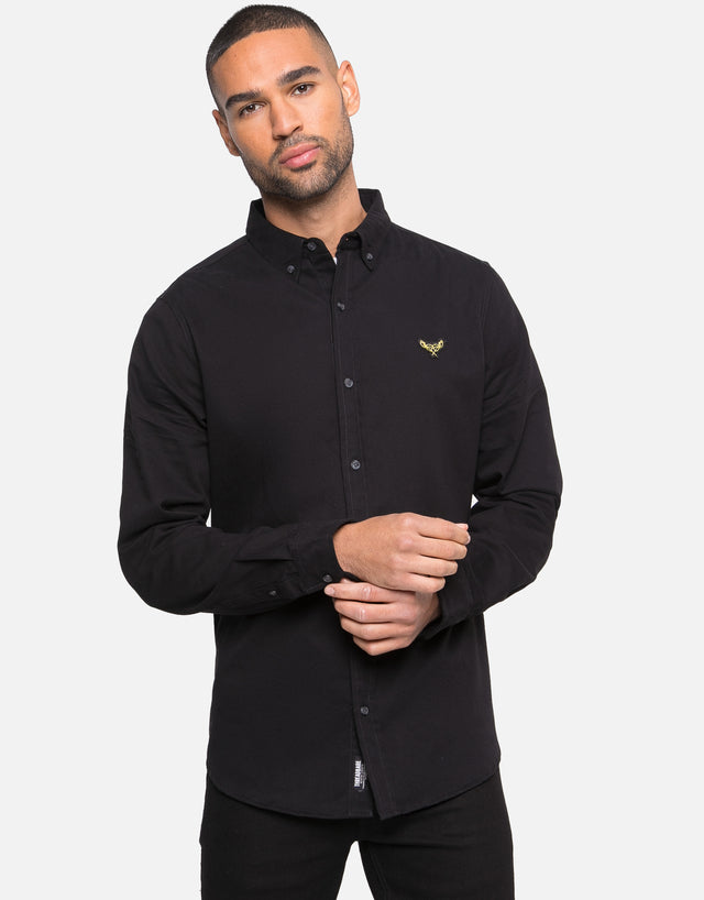 leopold cotton long sleeve shirt