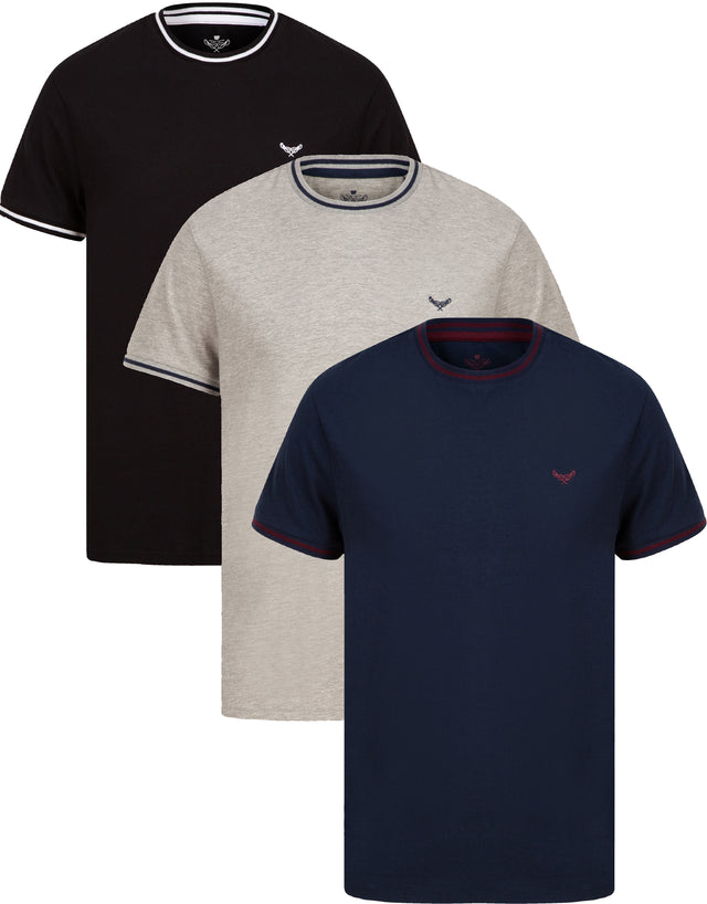 3 pack cotton t shirts