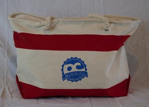 Oc Brewing Co. Official Canvas Beach Bag
