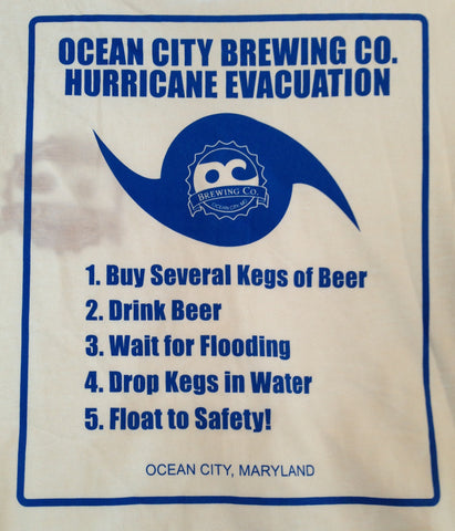 "OC Brewing Co. ""Hurricane"" T-Shirt"