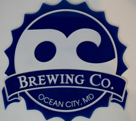 OC Brewing Co. Etched Acrylic Custom Sign