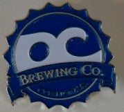 OC Brewing Co. Official Logo Pin