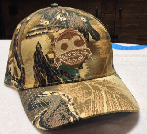 OC Brewing Co. Camo Baseball Hat Cap