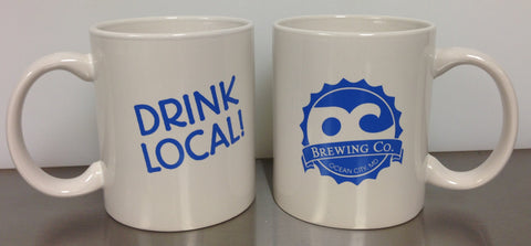 OC Brewing Co. Official Drink Local Coffee Mug