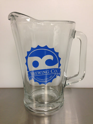 OC Brewing Co. Official 60 oz. Glass Pitcher