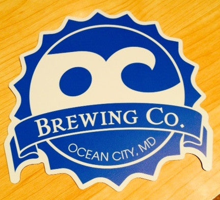 "6"" Official OC Brewing Company Car Magnet"
