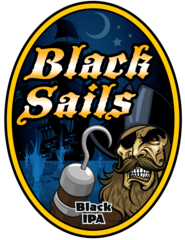 "OC Brewing Co. ""Black Sails"" T-Shirt"
