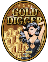"OC Brewing Co. ""Gold Digger"" T-Shirt"