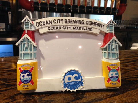 OC Brewing Co. Official OC Light & Lager Picture Frame