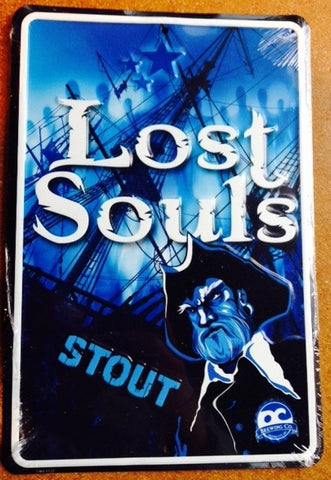Lost Souls Stout Embossed Metal/Tin Sign