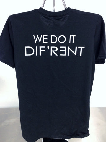 "OC Brewing Co. Official ""WE DO IT DIF'R3NT"" Black T-Shirt"