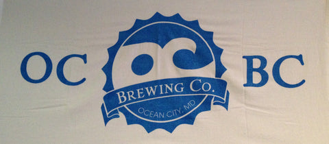 OC Brewing Co. Official Beach Towel