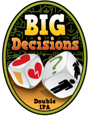 Big Decisions OC Brewing Co. Beer Magnet