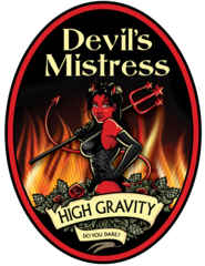 Devil's Mistress OC Brewing Co. Beer Magnet