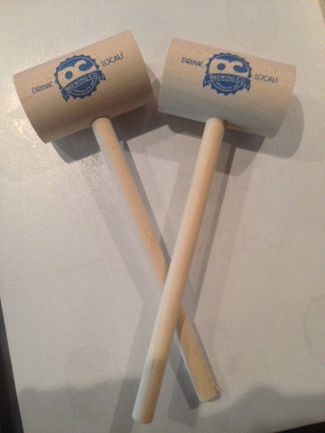 Official OC Brewing Company handmade eastern shore Crab Mallets Set of 2