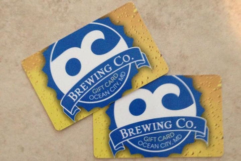 OC Brewing Co. $15 Gift Card