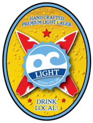 Oc Light Lager OC Brewing Co. Beer Magnet